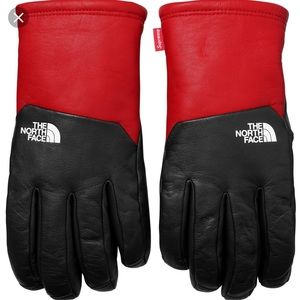 9aad80eb337f3d Supreme Accessories | Nwt X The North Face Leather Gloves | Poshmark